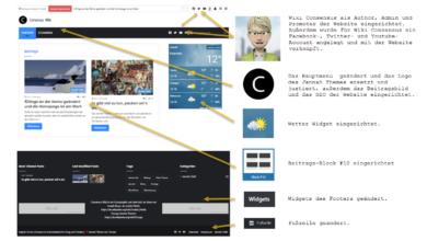 Bild von 6 Dinge an der Demo geändert und die Homepage ist am Start.